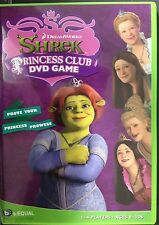 Shrek Princess Club Dreamworks DVD GAME 4 Games in one NEW