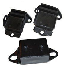 SMALL BLOCK  CHEVY ENGINE & TRANS MOUNT SET - RUBBER - SIDE MOUNT V-8 PAIR