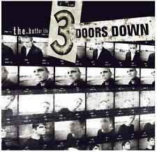 3 Doors Down - The Better Life (CD) • NEW • Matt Roberts, Kryptonite, Three