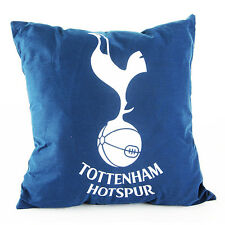 TOTTENHAM HOTSPUR FC SQUARE CREST CUSHION PILLOW BEDROOM SOFA NEW GIFT XMAS