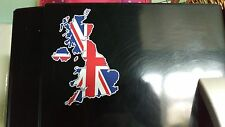 Union Jack British Isles Sticker Decal x1 Vinyl Printed UK GB Great Britain