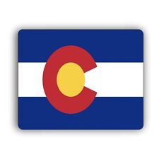 Colorado State Flag Computer Mouse Mat Pad Desktop PC Laptop