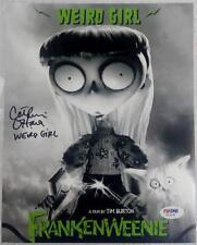 Catherine O'Hara Signed Weird Girl Frankenweenie 8x10 Photo PSA/DNA A