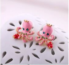 New fashion Beautiful Betsey Johnson Gift  Lovely octopus earrings A133