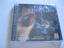 FINAL CONFLICT SEALED PC GAME CD-ROM COMBAT STRATERGY SOUND SOURCE INTERACTIVE