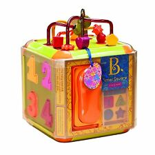 Times Square activity cube developmental baby toy by Battat