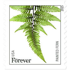 USPS New Ferns Forever Stamp Coil of 3,000 (2015)