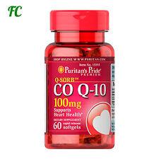 COENZIMA Co Q-10 Q10 100 mg 60 perlas - PURITAN´S - Antienvecimiento - puritans