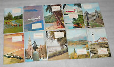American Geographical Society Lot of 10 Vacation Travel Booklets (1969, PB)