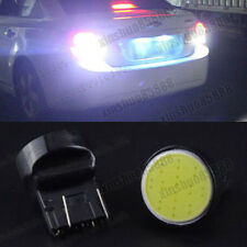 2pcs White T20 12smd Cob Led 7440 7443 W21W Car stop Backup Reverse lights 12v