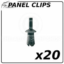 Panel Clips Plastic Nuts For Tapping Screws 6,2 MM Peugeot 206/1007 11549 12PK