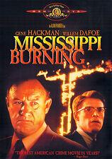 MISSISSIPPI BURNING (DVD, 2001) - NEW RARE DVD