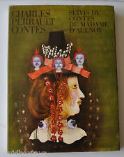 CHARLES PERRAULT / MADAME D'AULNOY CONTES French Book EVA BEDNAROVA 1978