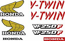 VF 250F V-TWIN Decal Kit