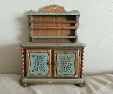 Vintage Reuge Swiss Miniature hutch Music Box works great song unknown