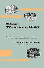 They Wrote on Clay: The Babylonian Tablets Speak Today (Phoenix Books)-ExLibrary
