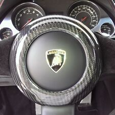 Lamborghini Gallardo All Models 04-13 Carbon Fiber Steering Wheel Center Cover