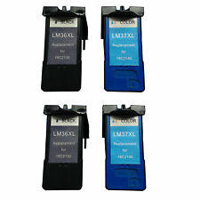 Ink Cartridge for Lexmark 36XL/37XL (2 Black 2 Color)