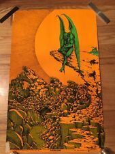 Vintage 60's 70's BLACKLIGHT Psychedelic POSTER Collection * Hippy Groovy