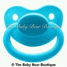 Light blue adult pacifier NUK 6/7 abdl ddlg