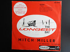 Disque 45 T The longest day Mitch Miller Funckler records