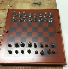 Combination Game Set (wood) Backgammon Checkers Chess Tic-Tac-Toe