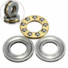 10Pcs F8-16M Model Metal Miniature Axial Ball Thrust Roller Bearing 8x16x5mm