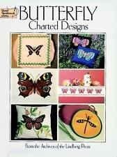 Butterfly Charted Designs (Dover Embroidery, Needlepoint) by Lindberg Press, Goo
