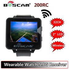 "Boscam 200RC 2"" LCD 5.8G 32Ch FPV Monitor Wireless Receiver Watch LCD Display"