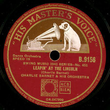 CHARLIE BARNET & HIS ORCHESTRA Leapin' at the Lincoln/Wanderin' Blues 78rpm X144