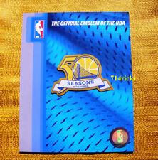 Official NBA 2011-2012 Golden State Warriors 50 Seasons in the Bay Area patch