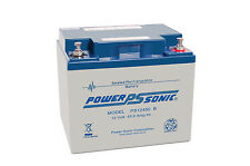 2 X PowerSonic 12V 45AH AGM/GEL Battery Mobility TGA Electric Breeze, Supersport