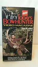 Today's Bowhunter Elk Bow Hunting VHS July 1994 NEW SEALED 30 minutes Tips
