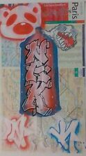 GRAFFITI MAP NAK143 In PARIS YEESUS,KanyeWest