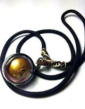 HOLY BALL LOOK OM LP TIM THAI AMULET  LOCKET PENDANT RICH WEALTH CHARM SUCCESS