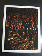 The Devil 2013 James Eads Limited Edition Giclee Art Print Signed Tarot
