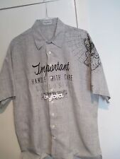 "DESIGNER ""BYBLOS"" NEW LINEN SHIRT. MADE IN ITALY. EU SIZE- 54, US -XL"