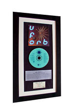 THE ORB UForb+Fluffy Clouds CLASSIC CD Album TOP QUALITY FRAMED+FAST GLOBAL SHIP