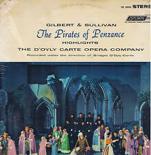 Gilbert and Sullivan THE PIRATES OF PENZACE D'Oyly Carte DECCA London LP sealed