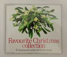 Favourite Christmas Collection - 17 carols compilation CD - VGC - Tested