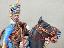 LA CIMIER ?- FRENCH NAPOLEONIC 5TH HUSSARS COLONEL 1807- 54MM PRO PAINTED
