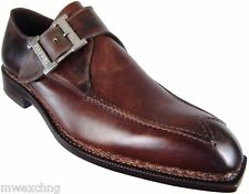 CALZOLERIA HARRIS MONK STRAP LOAFERS SHOES EU SIZE 47 NORWEGIAN STITCHING