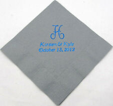 50 Personalized Beverage Napkins custom printed baby shower Wedding favors