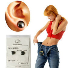 1 Pair Weight Loss Earrings Stimulating Acupoints Earring Stud Magnetic Therapy