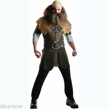 Dwalin Deluxe Men's Licensed Costume The Hobbit Dwarf Lord of the Rings