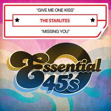 Give Me One Kiss / Missing You - Starlites (2014, CD Maxi Single NEUF)
