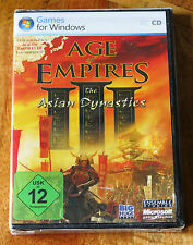 In deutsche (allemand) - age of empires iii (3) the asian dynasties exp. pack neuf