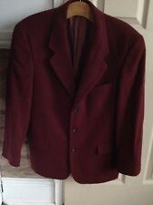"""MENS JACKET WOOL AND CASHMERE  BY DEBENHAMS SIZE 40"""" CHEST"""