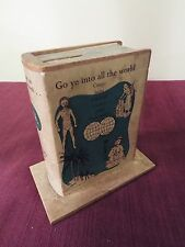 Missionary Baptist Missionary Society Collection Box - Missionary Bank