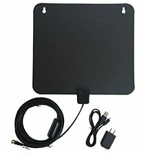 iPlus Amplified HDTV Antenna - 50 Mile Range with Detachable Amplifier Power